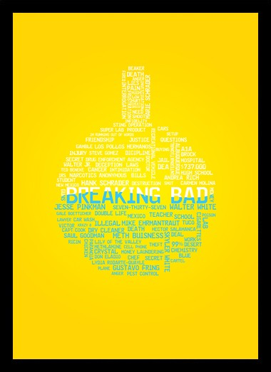 Quadro Poster Series Breaking Bad 29