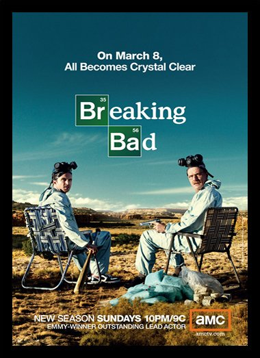 Quadro Poster Series Breaking Bad 33