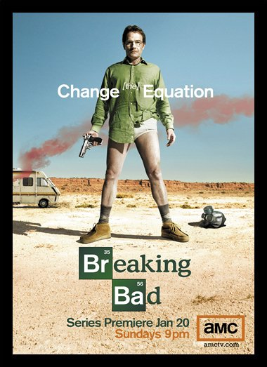 Quadro Poster Series Breaking Bad 35