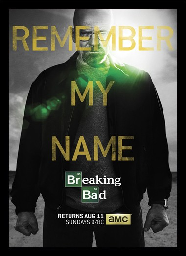 Quadro Poster Series Breaking Bad 10