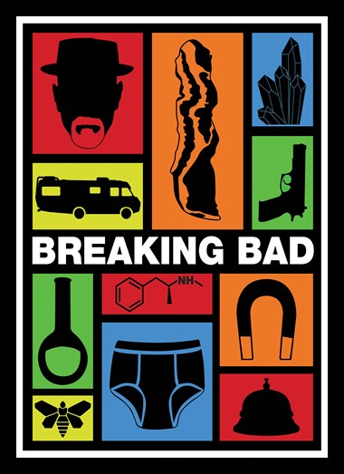 Quadro Poster Series Breaking Bad 12