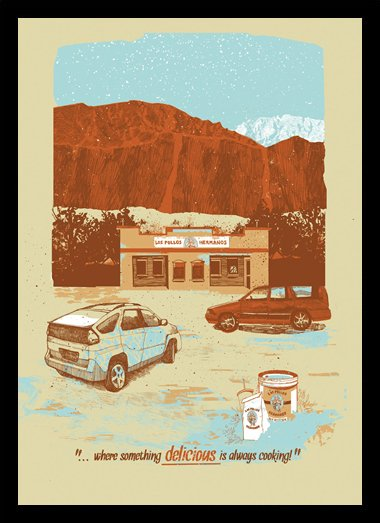 Quadro Poster Series Breaking Bad 14