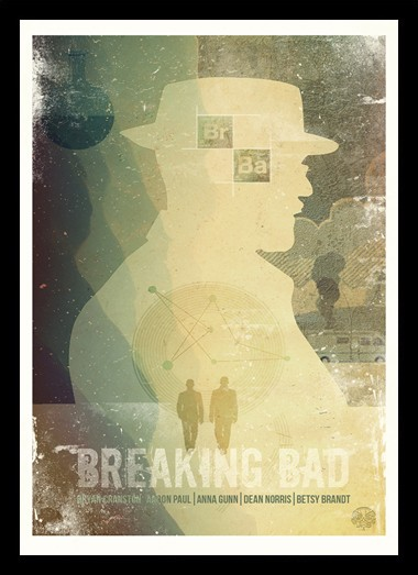 Quadro Poster Series Breaking Bad 21