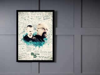 Quadro Poster Series Breaking Bad 24 on internet