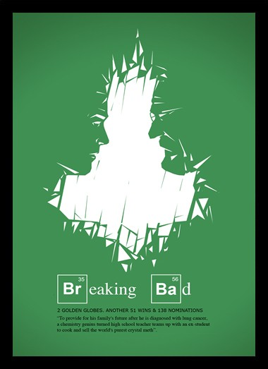 Quadro Poster Series Breaking Bad 26