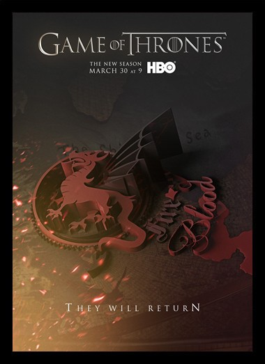 Quadro Poster Series Game of Thrones 19