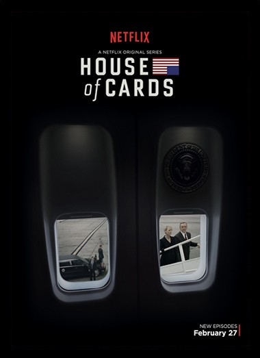Quadro Poster Series House of Cards 6