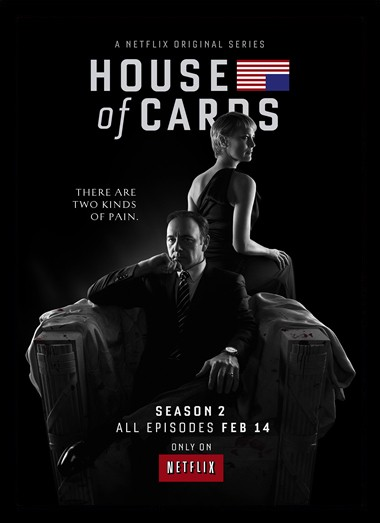Quadro Poster Series House of Cards 8