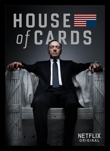 Quadro Poster Series House of Cards 10
