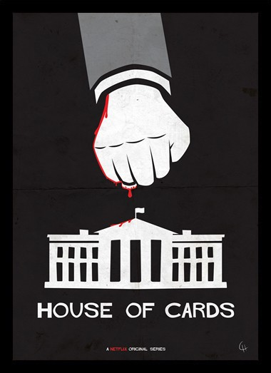 Quadro Poster Series House of Cards 11
