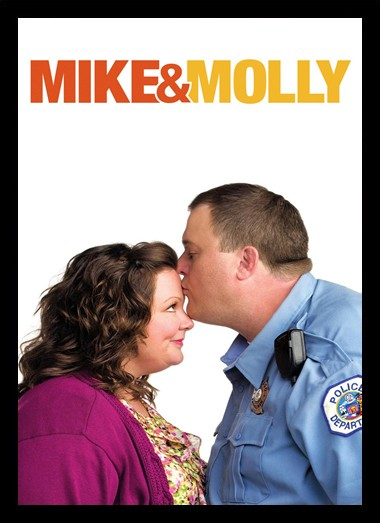 Quadro Poster Series Mike e Molly 1