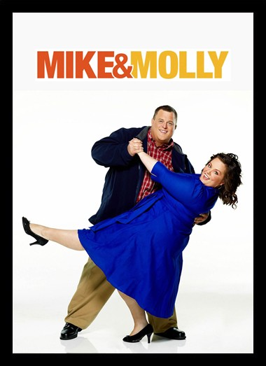 Quadro Poster Series Mike e Molly 2