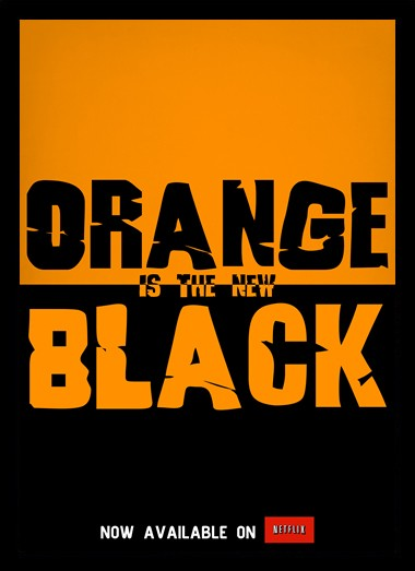 Quadro Poster Series Orange Black 20