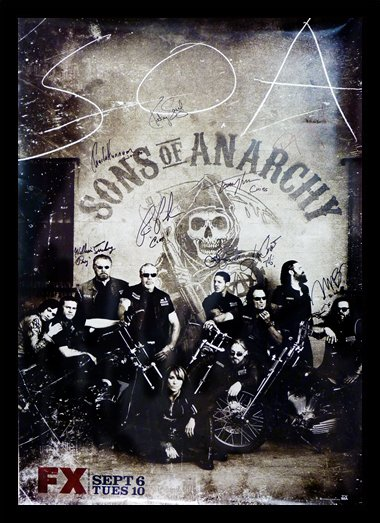 Quadro Poster Series Sons of Anarchy 1