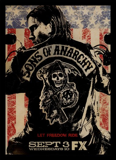 Quadro Poster Series Sons of Anarchy 2