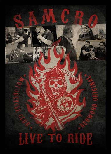 Quadro Poster Series Sons of Anarchy 3