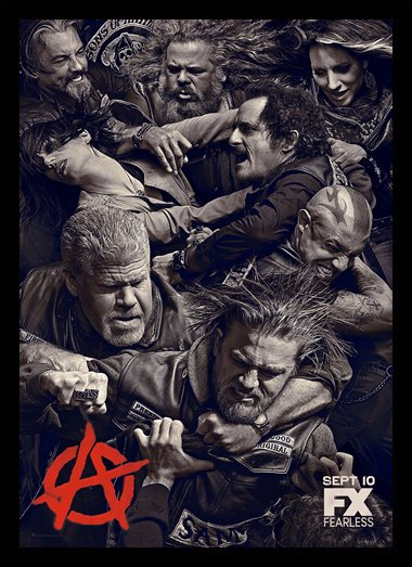 Quadro Poster Series Sons of Anarchy 12