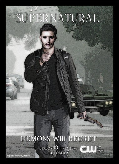 Quadro Poster Series Supernatural 19