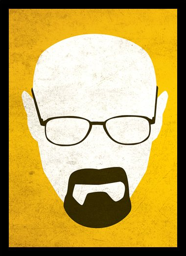 Quadro Poster Series Breaking Bad 32