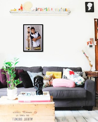 Quadro Poster Series Two and a half Men 7 - comprar online