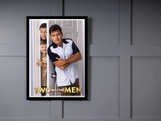 Quadro Poster Series Two and a half Men 7 na internet