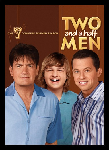 Quadro Poster Series Two and a half Men 8
