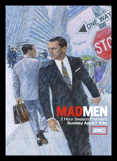 Quadro Poster Series Mad Men 14