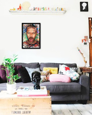 Quadro Poster Series House 9 - comprar online