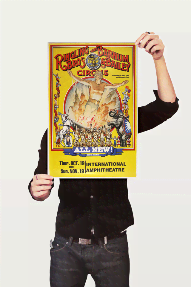 Poster Cinema Ringling Bros All New - comprar online