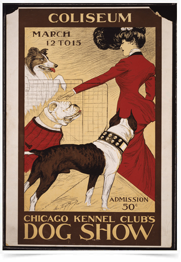 Poster Natureza Chicago Kennel Clubs