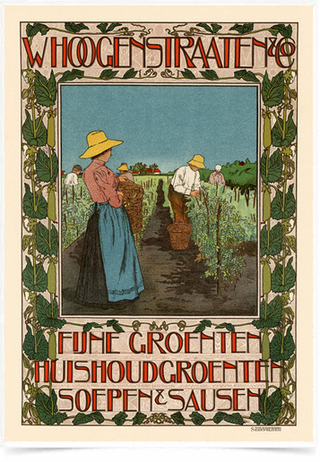 Poster The Belle Epoque Whoogenstraaten