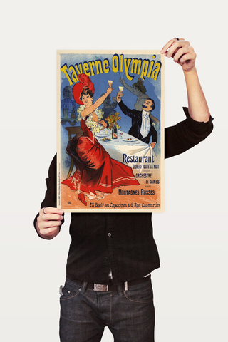 Poster The Belle Epoque Taverne Olympia - comprar online