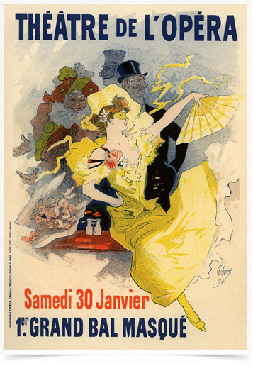 Poster The Belle Epoque Theatre de L Opera