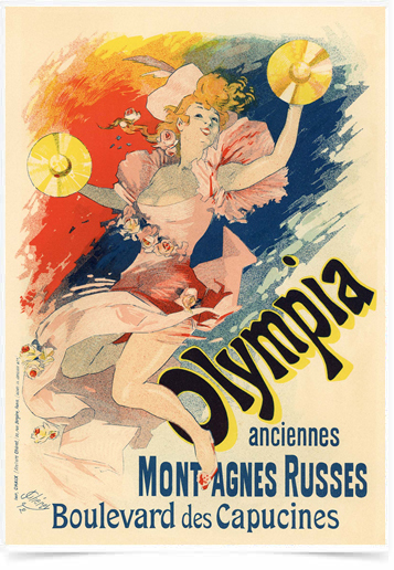 Poster The Belle Epoque Olympia