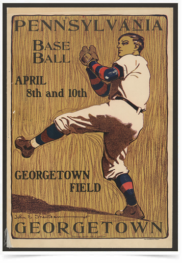 Poster Esportes Pennsylvania Base Ball