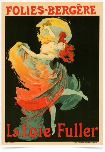 Poster The Belle Epoque La Loie Fuller