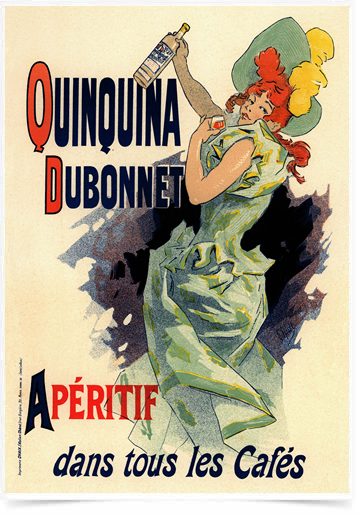 Poster The Belle Epoque Quinquina