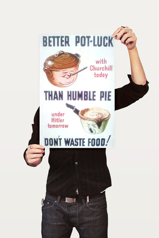 Poster Guerra Better Pot Luck - comprar online