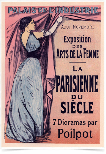Poster The Belle Epoque Parisienne Siecle