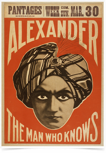 Poster Propaganda Alexander The Man