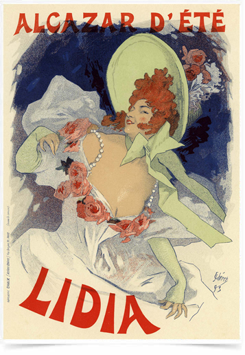 Poster The Belle Epoque Lidia