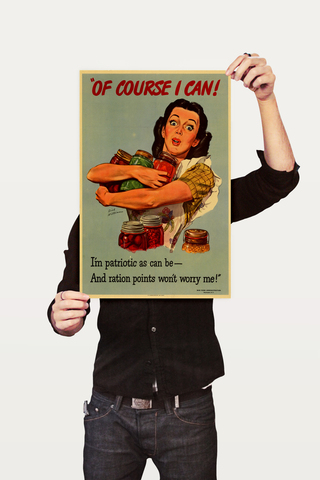 Poster Guerra Of Course I Can - comprar online