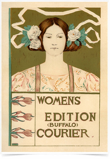 Poster The Belle Epoque Womens Buffalo