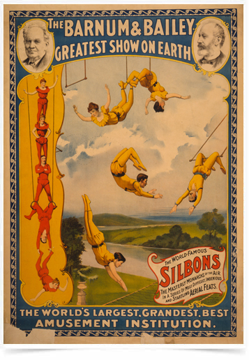 Poster Cinema Silbons Circus - Decor10