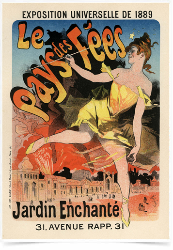 Poster The Belle Epoque Le Pays des Fees