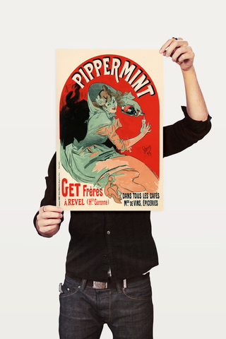 Poster The Belle Epoque Pippermint - comprar online