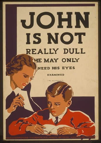 Poster Propaganda John is Not Really na internet