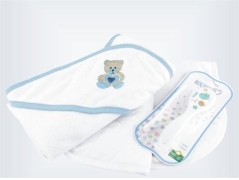 Kit banho do bebê - Bolha de sabão