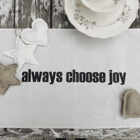 Camino de mesa | CHOOSE JOY - comprar online