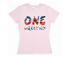 Playera O Camiseta One Direction Logo Clasico en internet